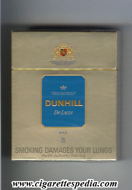dunhill english version de luxe mild ks 25 h australia