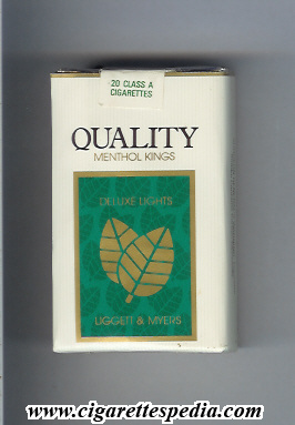 quality liggett myers deluxe lights menthol ks 20 s usa
