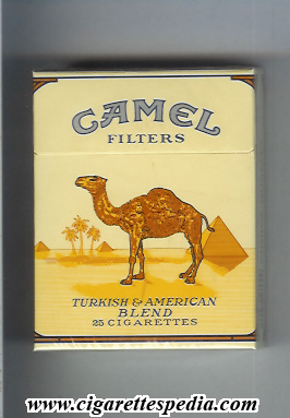 Camel (Filters) KS-25-H - Germany and USA - Cigarettes Pedia