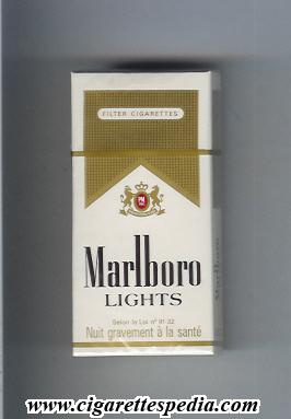 marlboro lights ks10h france and usa cigarettes pedia