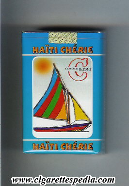 comme il faut c collection version haiti cherie ks 20 s blue haiti