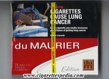 Popular brands of cigarettes Glamour in France