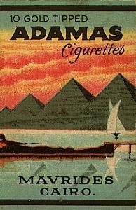 Adamas Cigarettes adamas (10 gold tipped) - cigarettes pedia