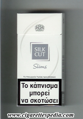 Silk Cut cigarettes United Kingdom price