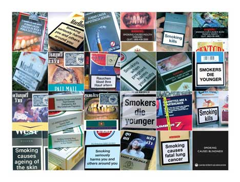 Cigarettes Marlboro brands Holland