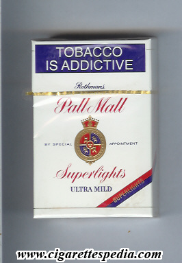 Cigarettes Sobranie excise USA