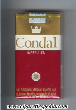 condal spanish version imperiales l 20 s red gold white spain