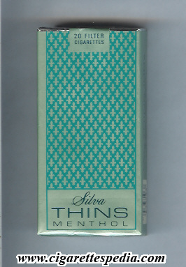 silva thins menthol l 20 s usa