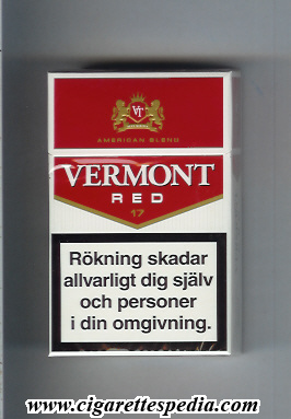 vermont swedish version red american blend ks 17 h sweden