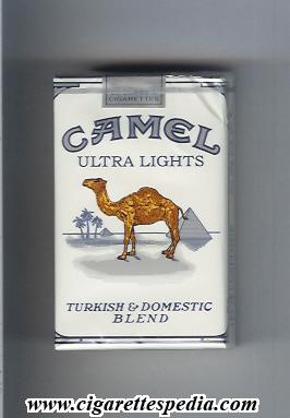 c1afd5047d Camel (Ultra Lights Turkish and Domestic Blend) KS-20-S - USA ...