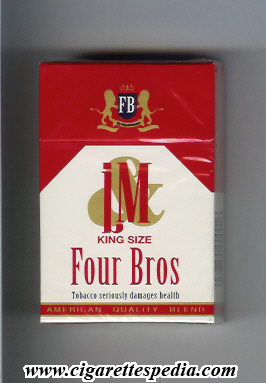 four bros l m king size ks 20 h england