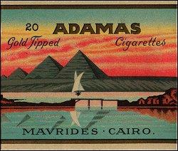 Adamas Cigarettes adamas (20 gold tipped) - cigarettes pedia