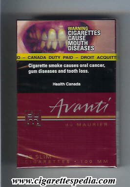 Price pack cigarettes Peter Stuyvesant Europe