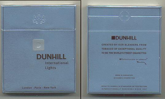 How much does a pack of Dunhill reds cost in Michigan