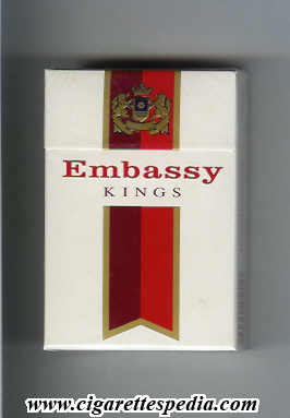 Embassy cigarette coupons