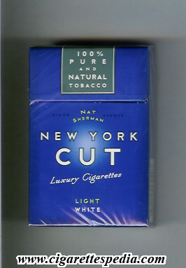 Dunhill cigarettes in NY