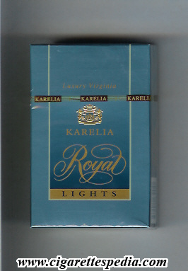 Selling cigarettes Parliament from duty free