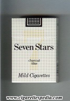 Seven Stars 7 (Mild Cigarettes Charcoal Filter) KS-20-H - Japan ...