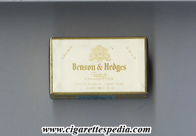 Cigarettes Benson Hedges distributors Wisconsin