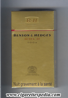 Buying cigarettes Benson Hedges in Sweden