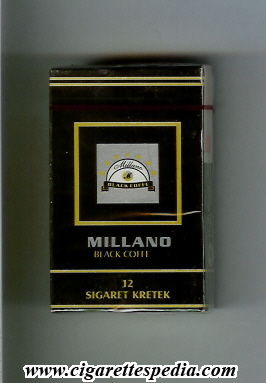 millano black coffe ks 12 h indonesia