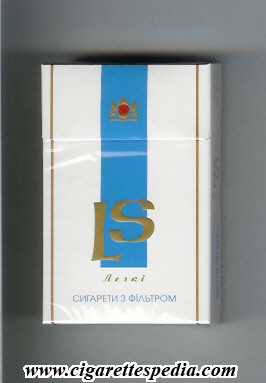 Ls Ukrainian http://www.cigarettespedia.com/index.php/LS_(ukrainian_version)_(Legki)_(T)_KS-20-H_(Lights)_-_Ukraine