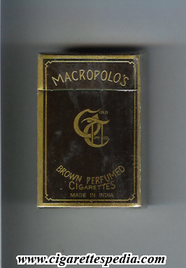macropolo s brown perfumed cigarettes s 10 h india