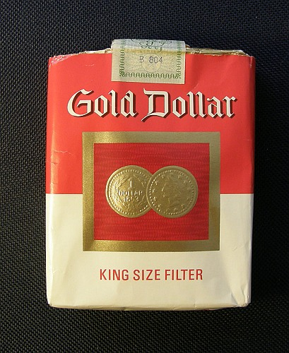 gold dollar dutch version king size filter ks 25 s red white holland