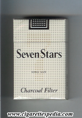 Seven Stars 7 (Charcoal Filter) KS-20-H - USA and Japan ...