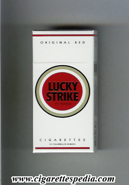 Lucky Strike (Original Red) KS-10-H - Argentina and USA