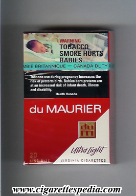 Mailing cigarettes State Express from England to USA