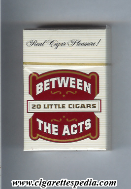 Between The Acts Little Cigars Ks 20 H Usa