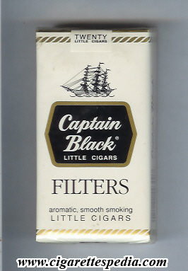 captain black filters little cigars l 20 s usa