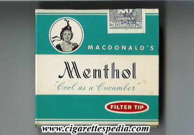 Cost of packet of cigarettes Captain Black in United Kingdom