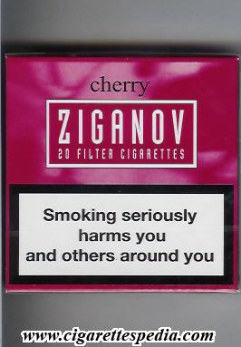 cherry flavored cigarettes