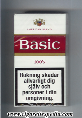 basic design 1 american blend l 20 h full flavor white red switzerland