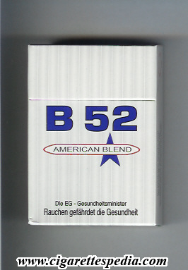 b 52 american blend ks 19 h white blue germany