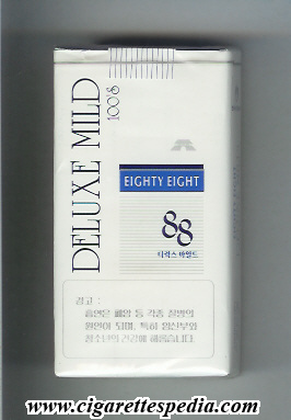 88 eighty eight horizontal name deluxe mild l 20 s vertical deluxe mild south korea