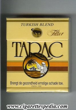 tarac turkish blend ks 25 h belgium