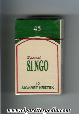 si ngo 45 special ks 12 s white green indonesia