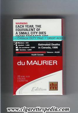 Duty free cigarettes Pall Mall into NJ