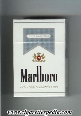 Marlboro Ks 20 H White And Grey Brazil Cigarettes Pedia